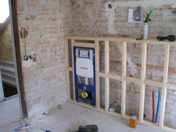 Uitzonderlijk Badkamer plaatsen in oude keuken Woubrugge - Decotronics YJ39