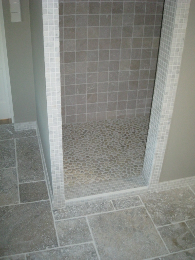 Badkamer plaatsen in oude keuken Woubrugge - Decotronics