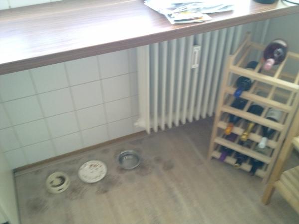 Radiator ombouw en betegelen keuken   decotronics