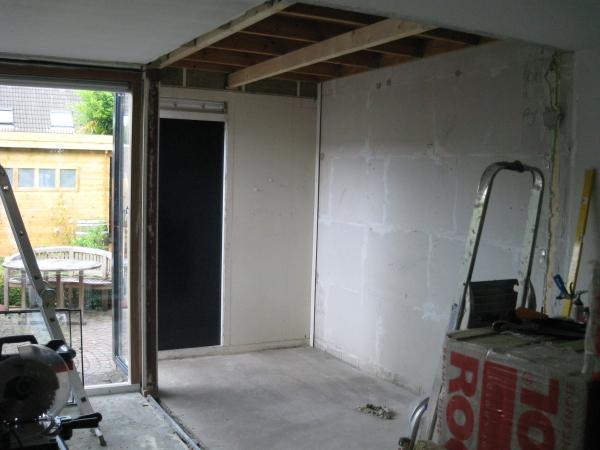 Uitbouw woonkamer - Decotronics